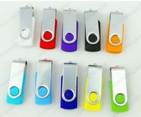 Promoción 250pcs 64GB pendrive populares unidad flash USB estilo de rotación YTHSY lápiz de memoria con DHL Fedex