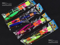 Wholesale Christmas Gift LED amazing arrow Flying helicopter umbrella kids toys Space UFO LED Lighte Up Toys