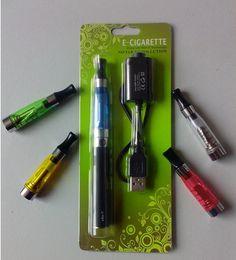 Ego blister ce4 seul paquet à vendre-EGO CE4 Starter Kit BLISTER unique pour 650mAh 900mAh 1100mAh 1,6 ml Cigarette CE4 atomiseur électronique