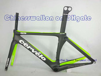 Wholesale Carbon frame S5 full carbon fiber road bike frame frameset bicycle bike S5 VWD TEAM customized color black green cycling frame