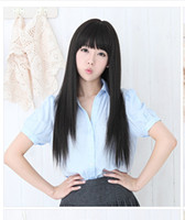 Cheap Asian Wigs Hair Wigs Best straight Christmas Synthetic Wigs