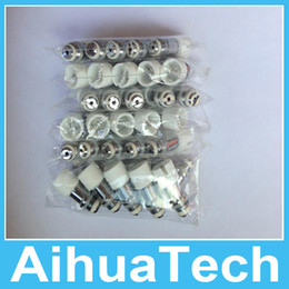 Glass Globe Wax Vaporizer Core Coil Head Dome Atomizer Clearomizer Ceramic Coil Free DHL Shipping 150pcs