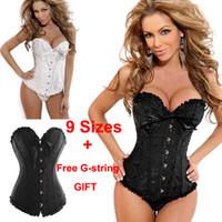 Hot New Sexy Girls Women's Corset Bustier Tops Bra Lace Up B...