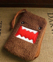 Wholesale Japan DOMO Kun Purse Handbag Bag Phone Case Pouch Holder Bag Chain Pendant Case Purses Bag