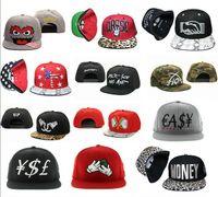 Wholesale Factory snapback hats custom Hip Hop Streetwear money snapbacks hat hip caps mix order drop shipping professional Caps Factory