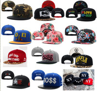 Wholesale snapback hats custom snapbacks hat adjustable Classical Snap Back over styles fast free shiping top quality mix order
