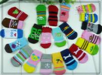 Wholesale NEW Fashion Design pet Dog Socks sets Hot sales