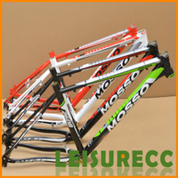Mountain Bikes mtb bicycle frame - Genuine MOSSO aluminum alloy MTB bicycle frame include accessories white gift