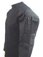 Wholesale Tactical Long Sleeve Combat Shirt Black free ship