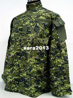 bdu shirt - Cadpat SWAT Digital Camo Woodland BDU Uniform Set shirt pants free ship