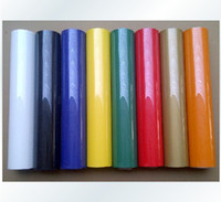 Wholesale Rolls cmx100cm Heat Transfer PU Vinyl colors Cutter high quality Press heat transfer film