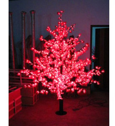 DH Free Shipping Led outdoor landscape lamp led artificial tree christmas Maple tree lights 2m 1248 leds,White maple leaf