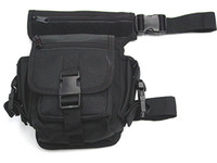Wholesale Tactical Drop Leg Pouch Utility Waist Pouch Carrier Bag Black