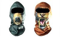 assorted headgear - MasWarmSkin Balaclava headgear Facek for motorbikes Biker Snowmobile Huntingv Assorted Styles DHL