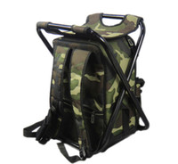 Wholesale Fishing Chair Bag Tackle Box Foldable Fishing Bags Multifunctional Backpack Style Used as A Chair Large Packing Capacity High Quality Bags