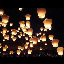 Wholesale Feu Ciel chinois Kongming Lanternes Birthsay mariage Patty Sky Lantern MYY6297