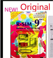 Wholesale Updated R SIM RSIM Unlock ALL iPhone5S C G S RSIM9 pro IOS GPP IOS7 RSIM PRO Docomo AU Sprint Verizon T MOBILE