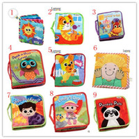 Wholesale 100pcs baby toys kids toys lamaze the Rama Zerbe book Habits of cloth styles books children s toys in boxes Fairy tale story