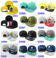 Wholesale EMS New arrival Pink Dolphin Snapback Hats various pink dolphin caps strapbacks styles hats Adjustable