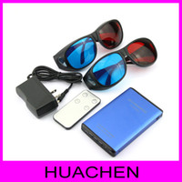 Red/Blue 2d to 3d - 1080p HDMI D to D Converter Switcher Signal Video Converter with D glasses