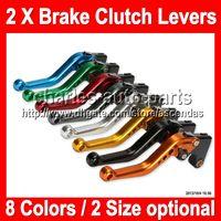Wholesale 8 colors X Brake Clutch Levers For KAWASAKI NINJA ZX R ZX6R ZX R R NEW CNC Brake Lever