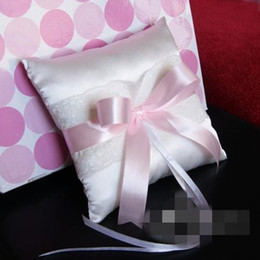 Wholesale 2013 sweet gift four colors bow ring pillow hot sell