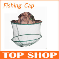 Wholesale Fishing cap Mosquito Fly Insect protect hat Cover bucket sun hat HW0157