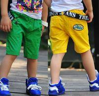 Shorts Boy Summer 2014 Summer Baby Children Shorts Boys Embroidery Pocket Design Short Pants Kids Clothing