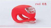 Home LED Finger Ring  LJ LED Silicone Bicycle Cycle Bike Light Set 7 Colors bike Caution Light 1