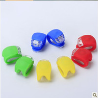 Wholesale YP LED Silicone Bicycle Cycle Bike Light Set Colors bike Caution Light