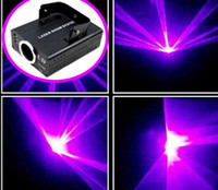 Wholesale Promotion Price mW Mini Blue Purple Violet Beam Stage Laser Light with DMX for DJ KTV Club Bar Home Xmas Party Gift