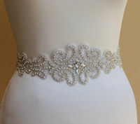 Wholesale Exquisite New Design Beads Crystal Bridal Accessory Wedding Sash Bridal Belt