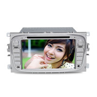 Wholesale New Din inch Car DVD Player J MX for Ford Focus Digital Touch Screen GPS FM Bluetooth Q0134D