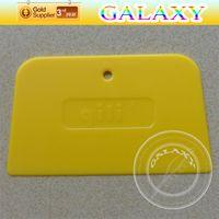 Wholesale Car Sticker Scraper Trapezoidal Car Silicone Squeegee Sale Size x8cm Car Wrap Paste Tools PT A12