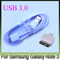 Wholesale 10pcs New USB Data Cable For Samsung GALAXY NOTE3 N9005 Galaxy S5 cable High speed Transmission Note Date Line