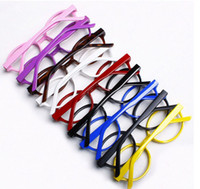 Wholesale 100 Cute Fashion Sunglasses Frames candy spectacle frames Cute Doctor glasses frames No lenses Factory price AAA