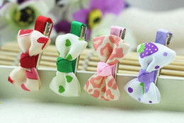 Wholesale 50 New arrivals lovely Baby children Girl Hair Bow Hairpin Hair Clips Headband