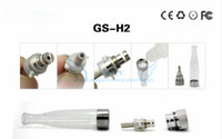 Electronic Cigarette Atomizer Core GS H2 Atomizer Core 200pcs Lot GS H2 Atomizer replacement Coil GS-H2 Clearomizer replace Head Core 1.8ohm 2.4ohm 2.8ohm Optional e cigarette from Opec