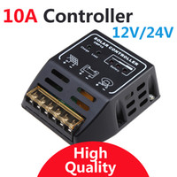 Wholesale 10A solar Charge Controller V V solar regulator for W W solar panel battery charge controller Brand New SP6