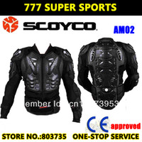 Wholesale MX Racing CE Standard Jackets Motorcycle Armor Protection Protective Gear Motocross Armors Chest Back Protectors Scoyco AM02