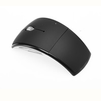 US Stock!2. 4 Ghz Wireless Foldable Folding Arc Optical Mouse...