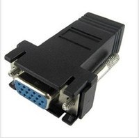 Wholesale VGA Female Video Extender to RJ45 Cable Adapter