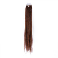 Wholesale 613 brown quot g Indian Remy Human PU Tape Hair Glue Skin Weft Hair Extensions AAA AGrade