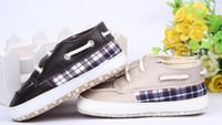 Unisex Winter Cotton 30%off! 11,12,13cm,Plaid toddler shoes soft bottom boy. PU anti-slip lace casual shoes. kid shoes cheap shoes sale baby wear 6pair 12pcs ZH