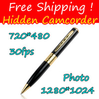 Wholesale Spy Pen Cameras USB digital camera pen driver mini DV high quality digital video recorder pen camera JBD B2