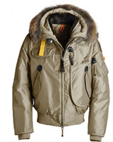 Down Coats Men Down Wholesale - GOBI men's down parka lady Down coats beige warm jackets size S-XXL A11