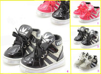 Unisex Winter Rubber 30%off! 2013 hot models! High to help thicken baby shoes. PU lace soft bottom toddler shoes. Casual shoes.cheap. baby wear 5pair 10pcs YY