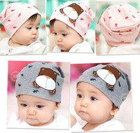 Wholesale Lovely cartoon kids caps many models high quality cute hats beanies hats