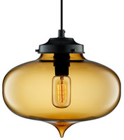 Wholesale Italy Modern Niche Glass Pendant Lights Vintage Bulb Dining Room Bar Pendant Lamp The Minaret Jeremy Pyles Modern Crystal Chandelier