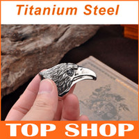 Wholesale Huge Titanium Steel Ring King Eagle Thai Silver Style USA SIZE Gemstone Rings